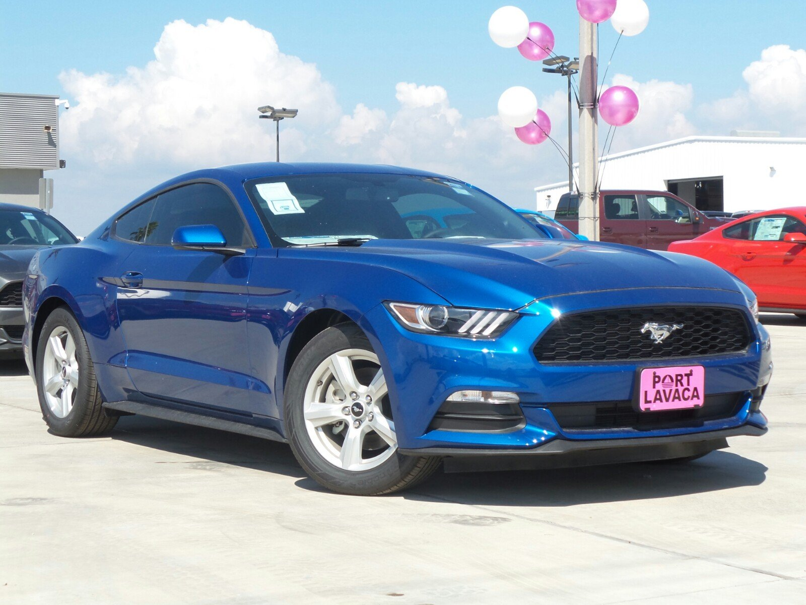 ford mustang  dr car  port lavaca