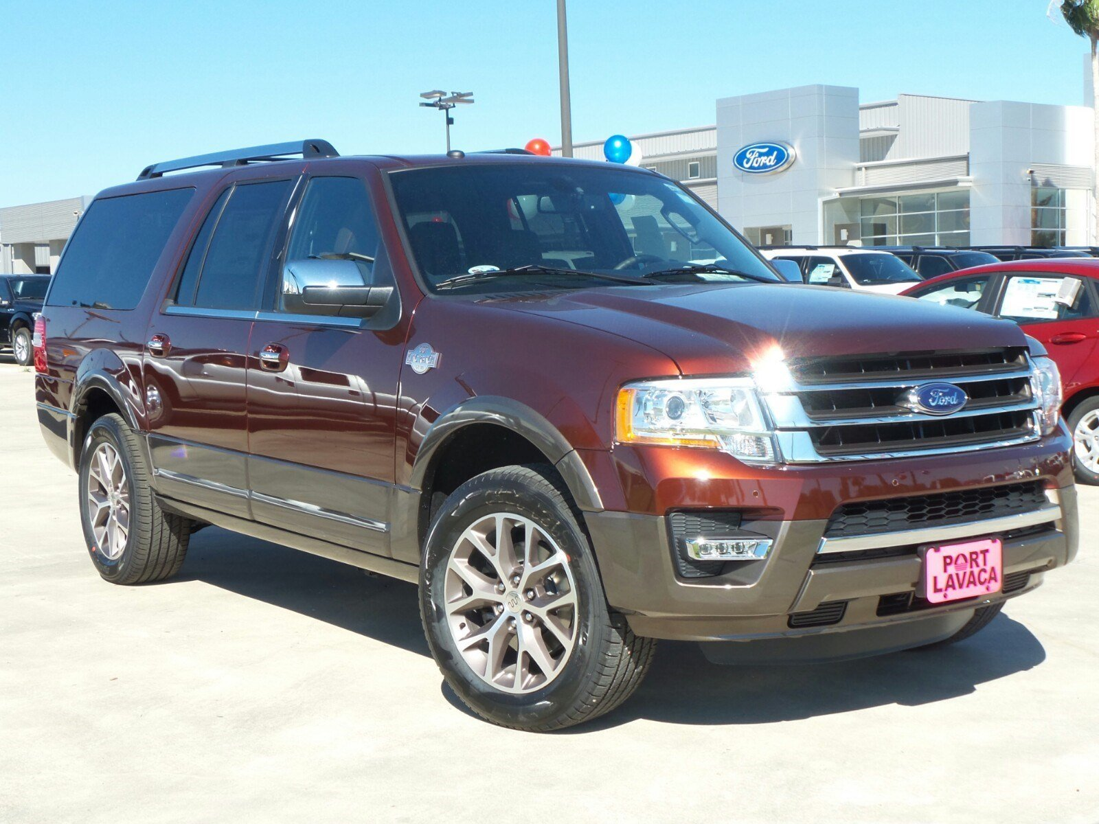new 2017 ford expedition el king ranch sport utility in port lavaca ea30622 port lavaca ford. Black Bedroom Furniture Sets. Home Design Ideas